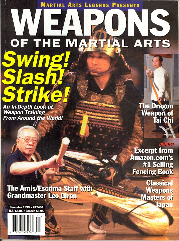 11/99 Weapons of the Martial Arts