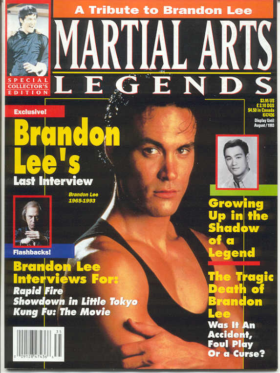 08/93 Martial Arts Legends