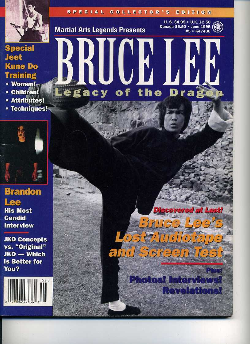 06/95 Bruce Lee Legacy of the Dragon