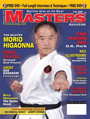 Fall 2008 Martial Arts Masters