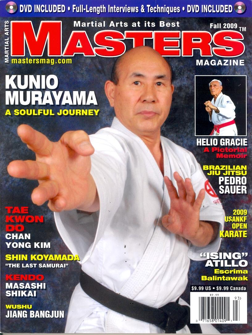 Fall 2009 Martial Arts Masters