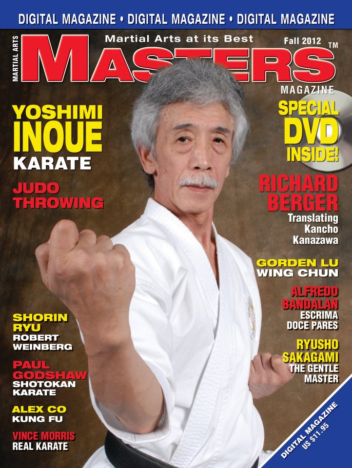 Fall 2012 Martial Arts Masters