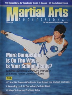 Winter 1996 Martial Arts Professional