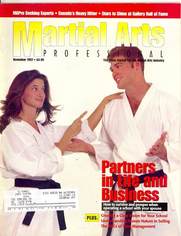 11/97 Martial Arts Professional