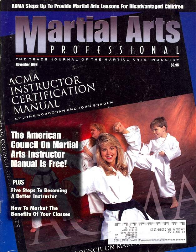 11/98 Martial Arts Professional