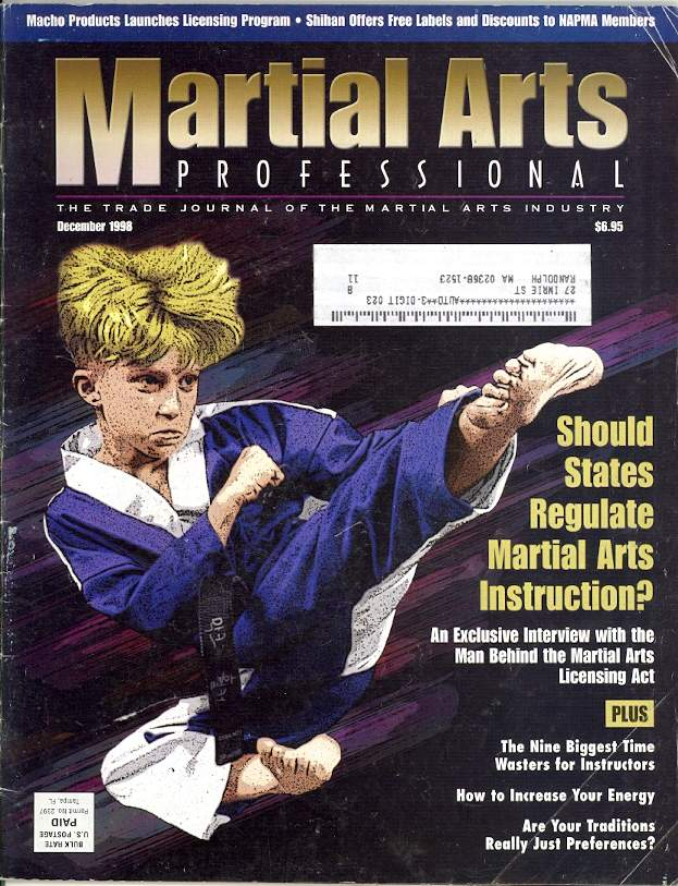12/98 Martial Arts Professional