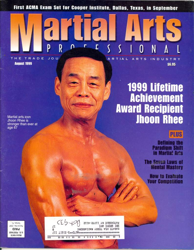 08/99 Martial Arts Professional