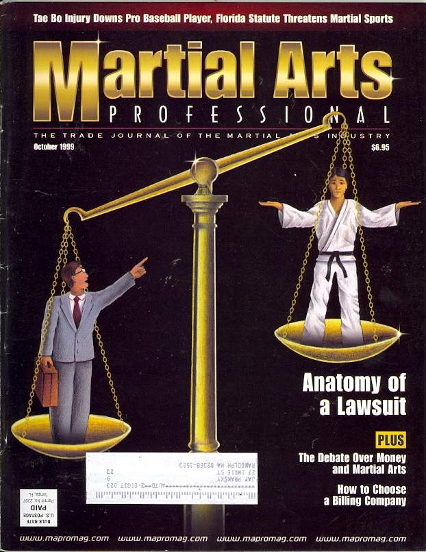 10/99 Martial Arts Professional