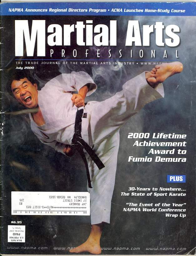 07/00 Martial Arts Professional