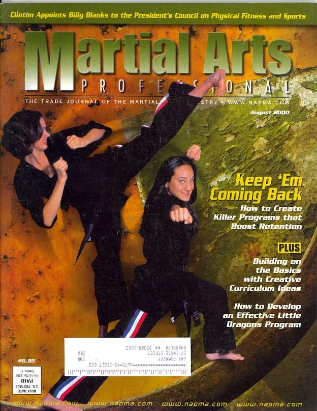 08/00 Martial Arts Professional