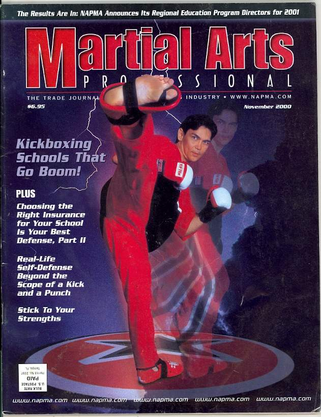 11/00 Martial Arts Professional