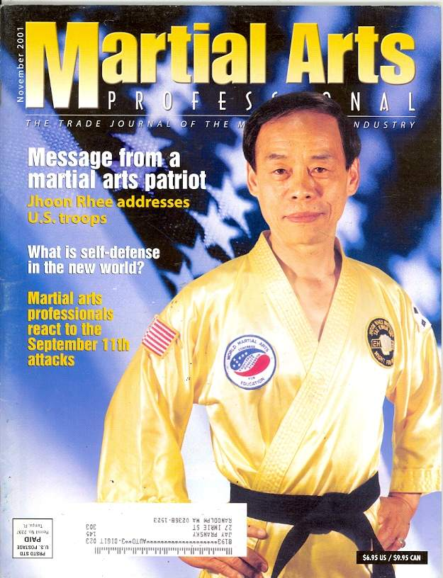 11/01 Martial Arts Professional