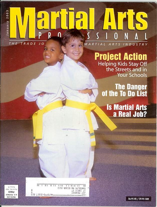 01/03 Martial Arts Professional
