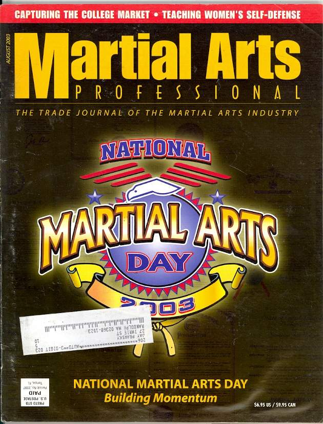 08/03 Martial Arts Professional