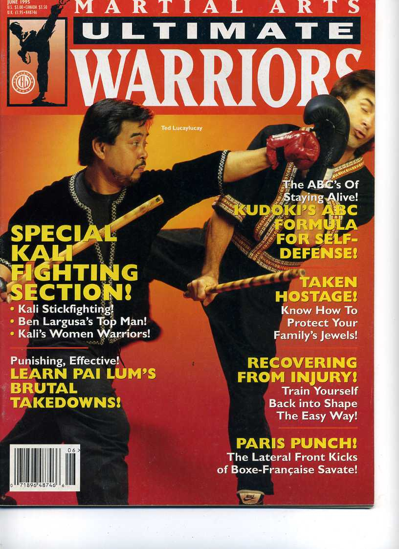 06/95 Martial Arts Ultimate Warriors