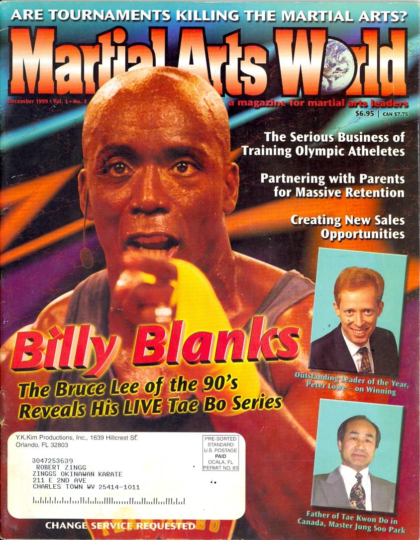 12/99 Martial Arts World