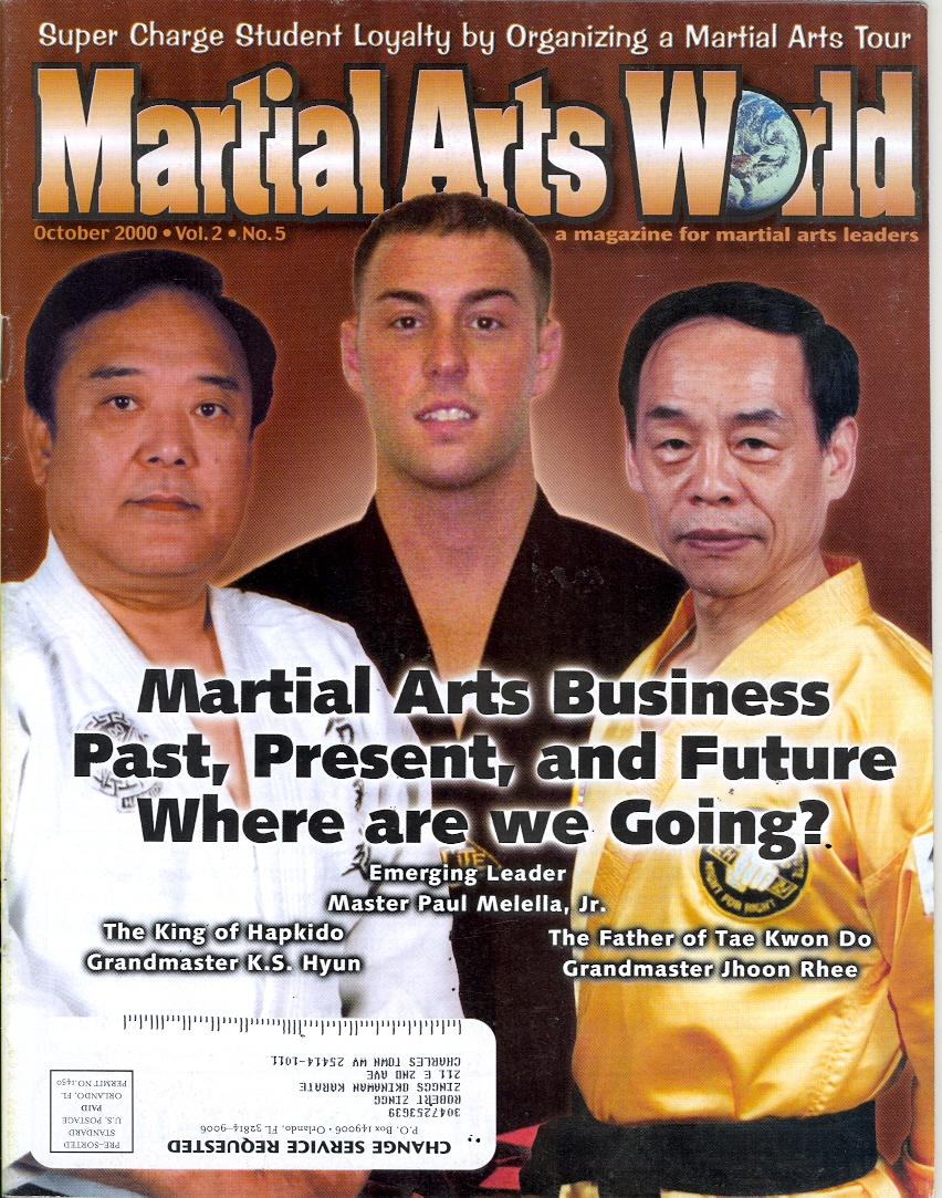 10/00 Martial Arts World