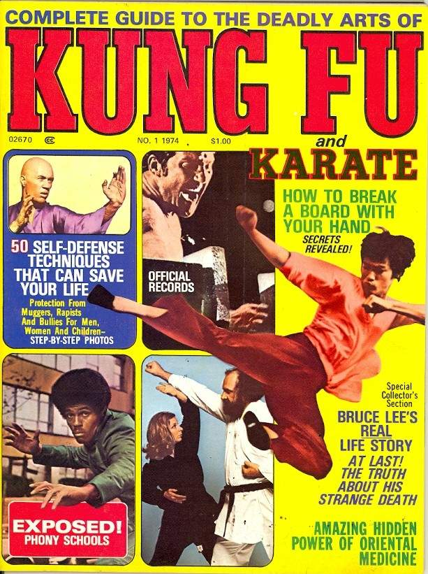 1974 Complete Guide to Deadly Arts of Kung Fu & Karate