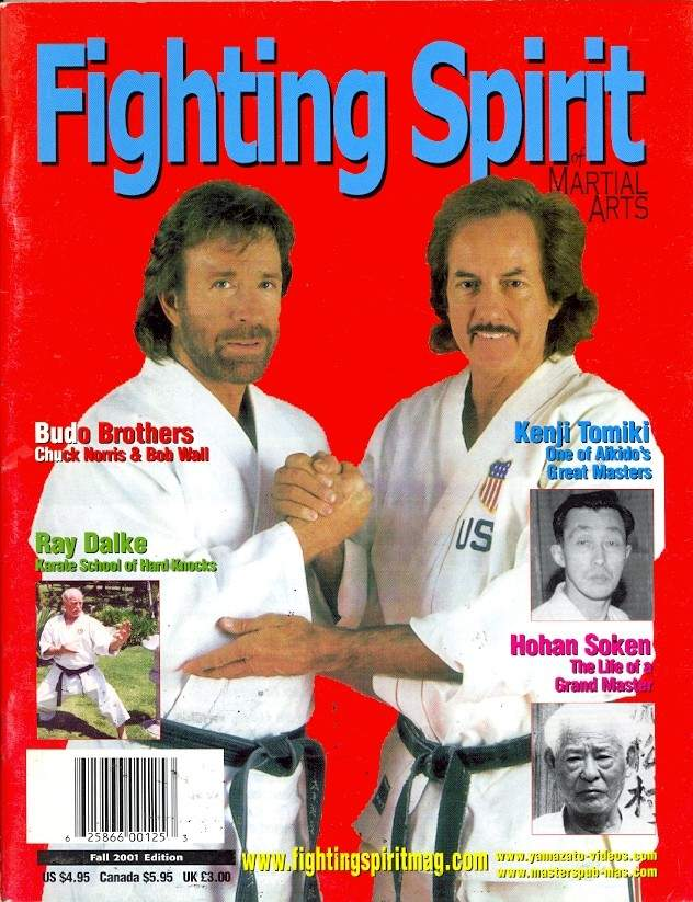 Fall 2001 Fighting Spirit of Martial Arts