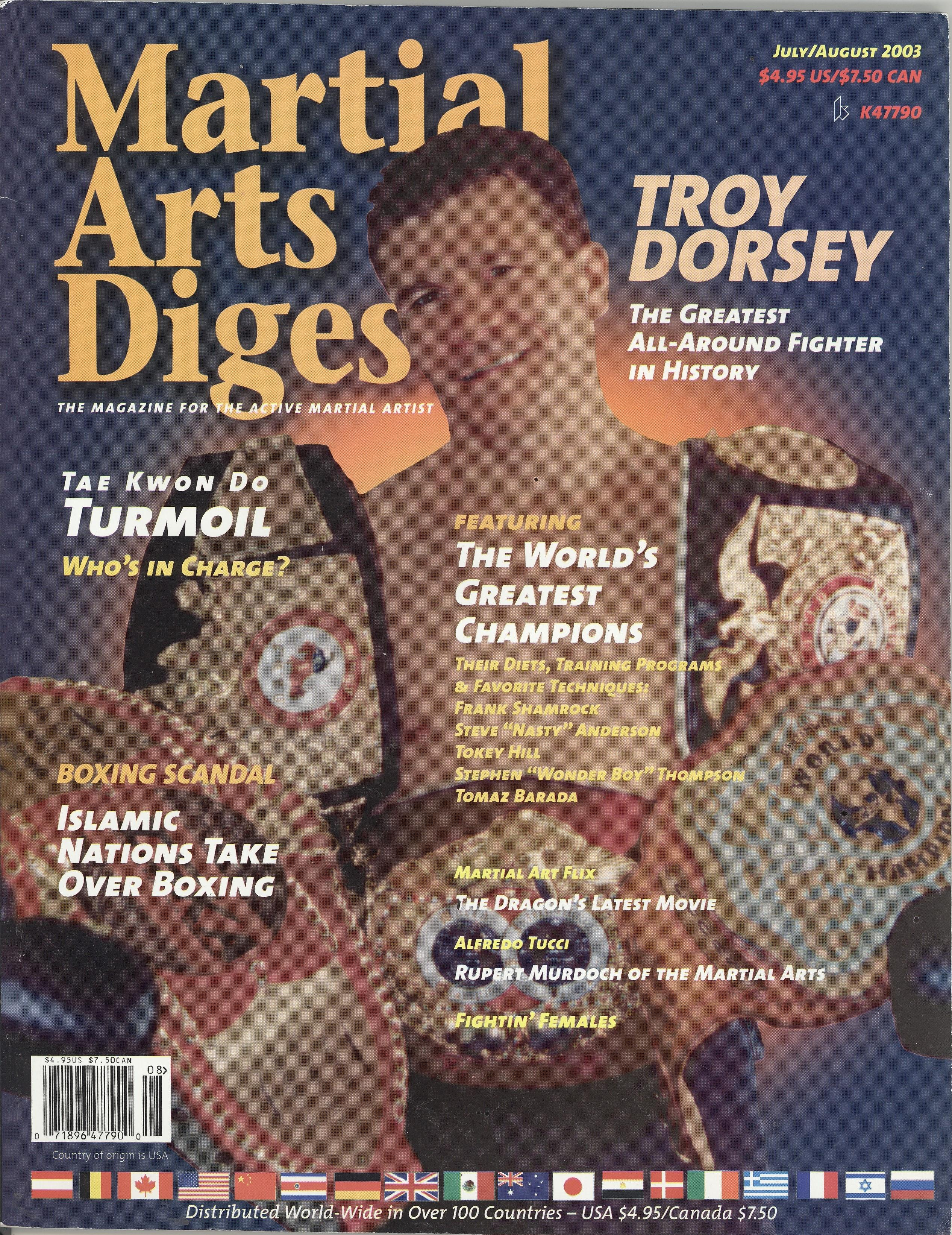 07/03 Martial Arts Digest