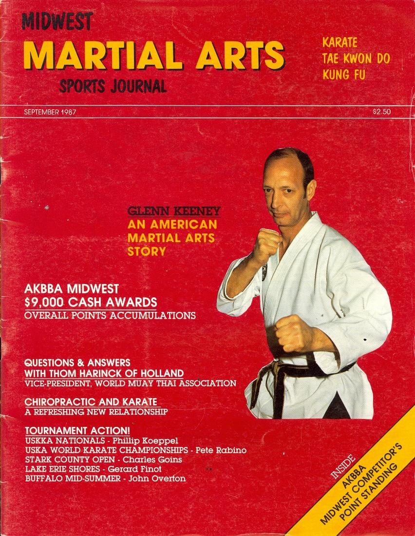 09/87 Midwest Martial Arts Sports Journal