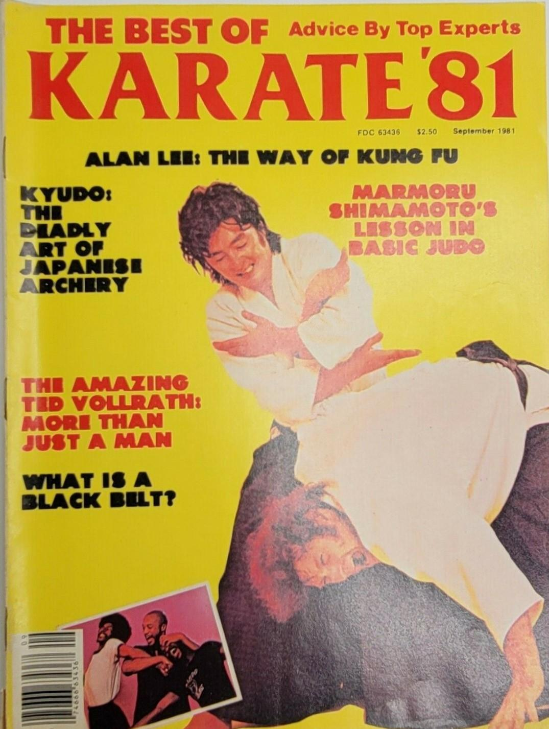 09/81 The Best Of Karate '81