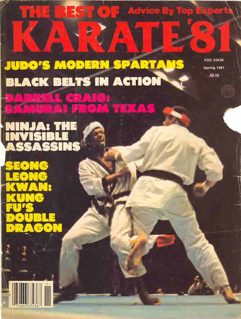 Spring 1981 The Best Of Karate '81