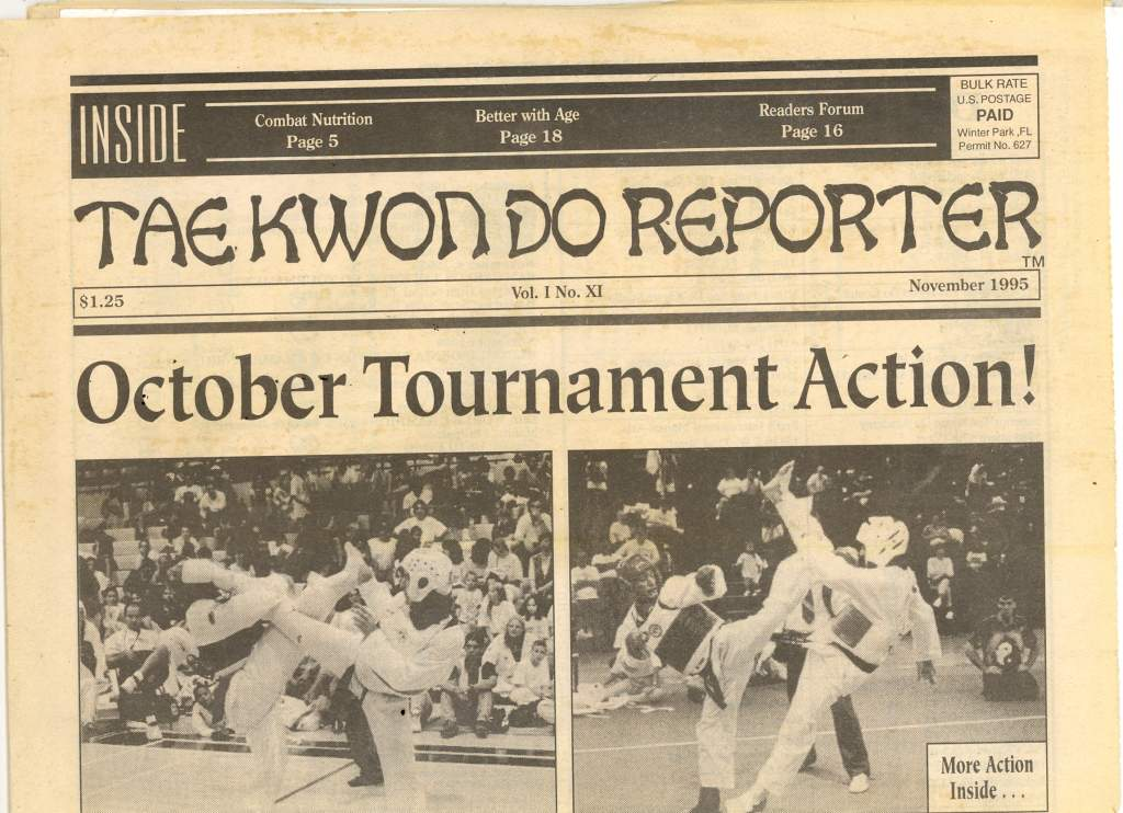 11/95 Tae Kwon Do Reporter