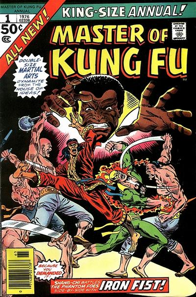 1976 Master of Kung Fu Annual