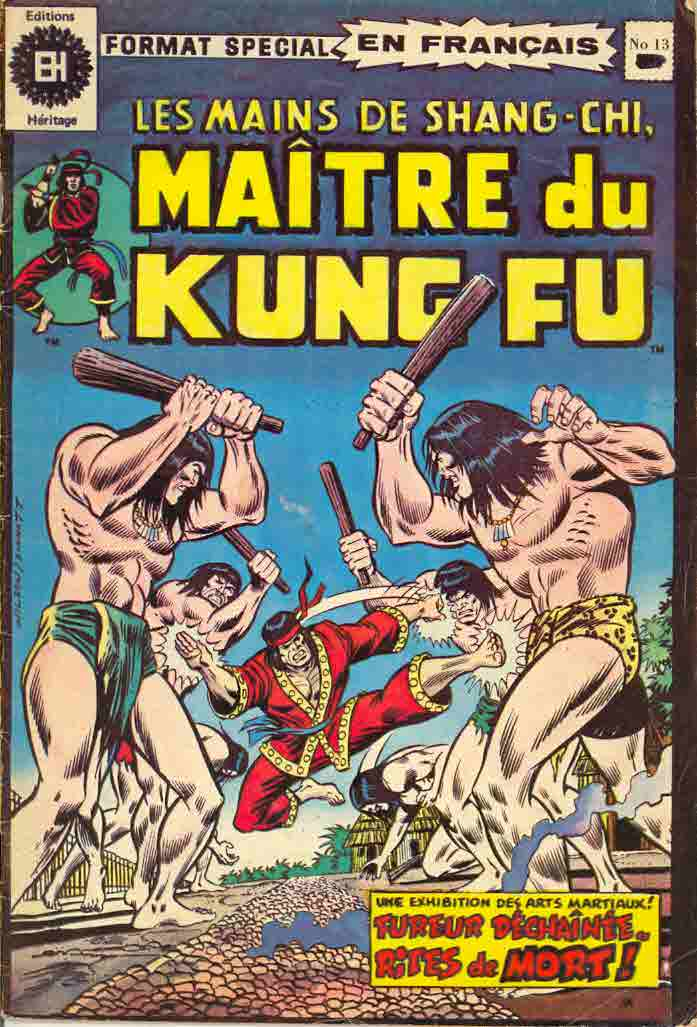 1974 Master of Kung Fu (French)