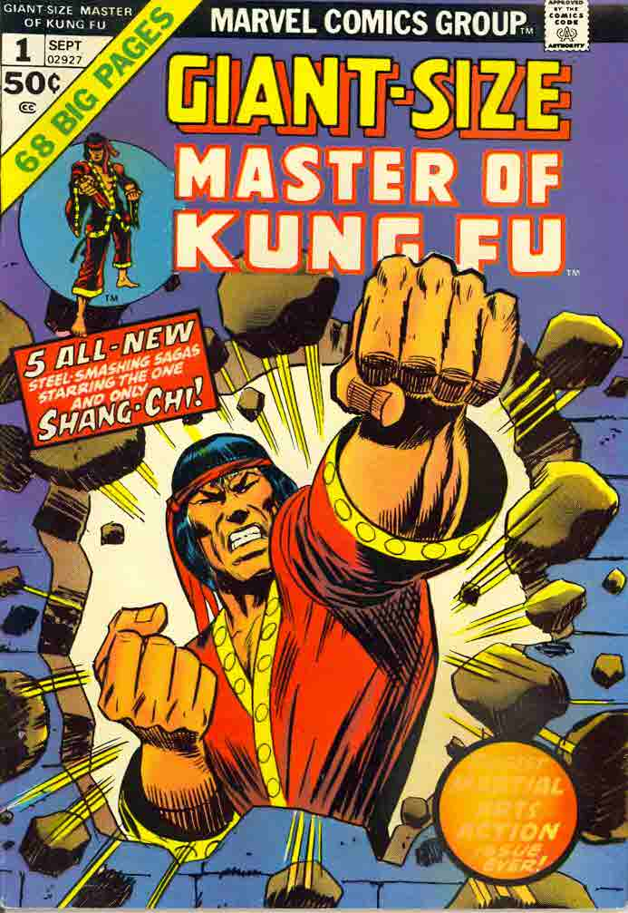 09/74 Master of Kung Fu Giant-Size