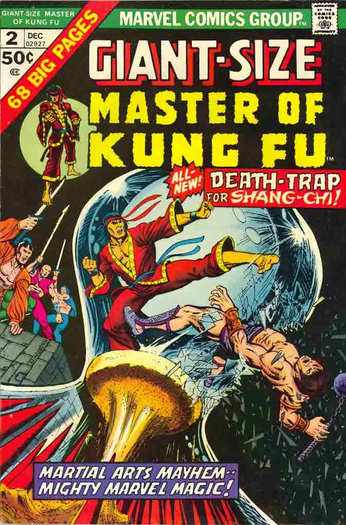 12/74 Master of Kung Fu Giant-Size
