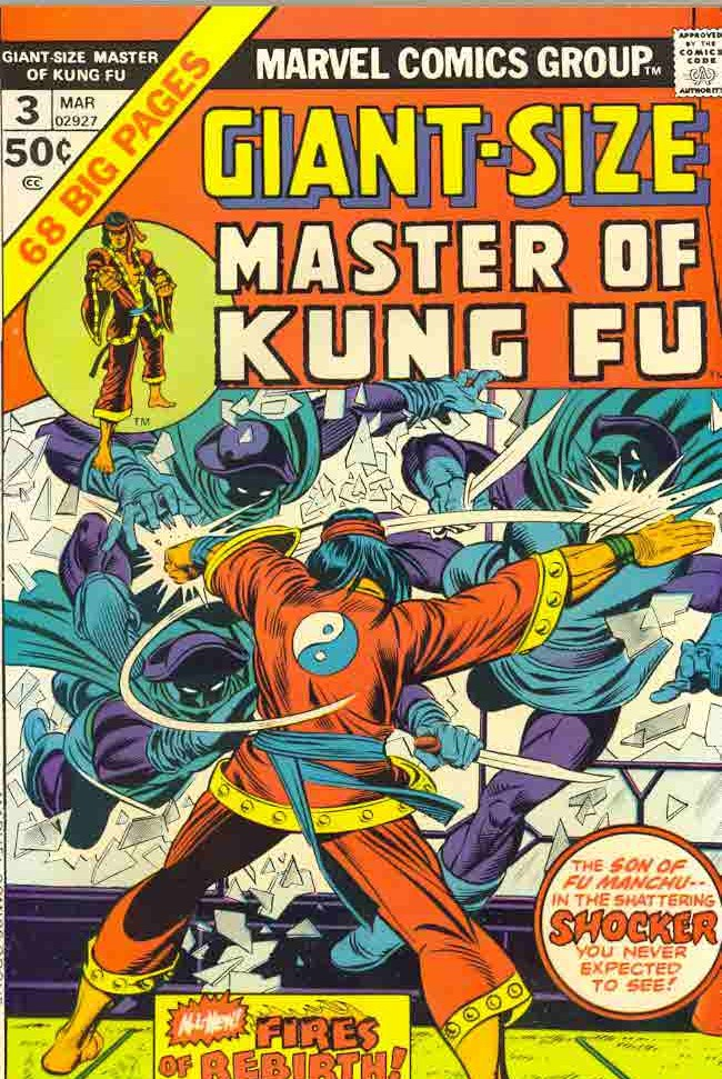 03/75 Master of Kung Fu Giant-Size