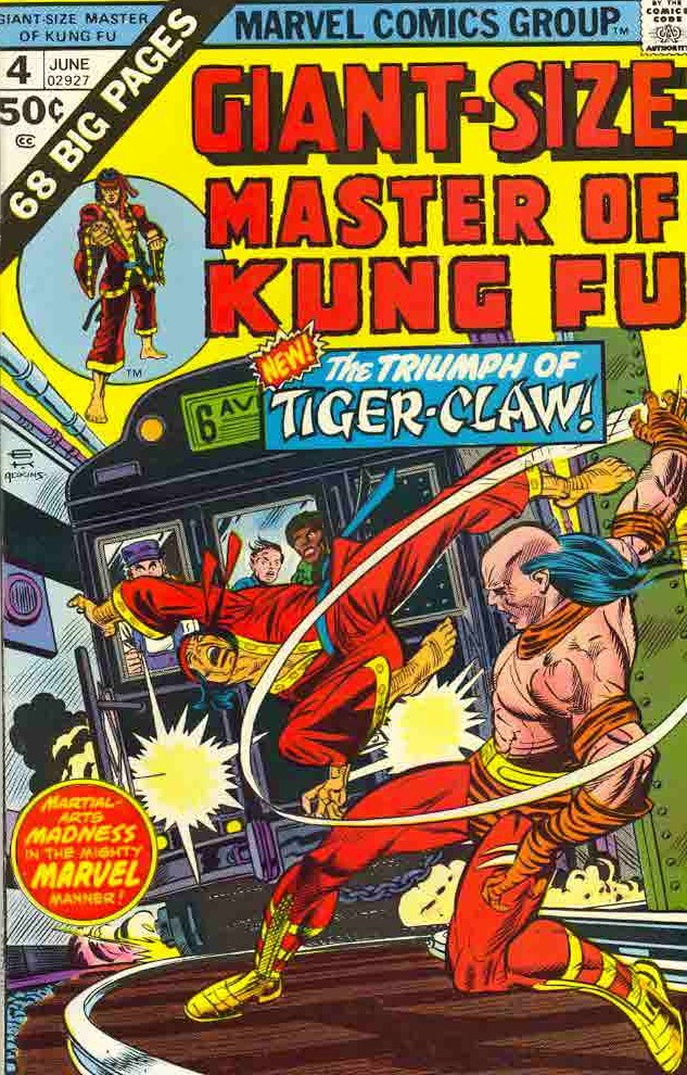 06/75 Master of Kung Fu Giant-Size