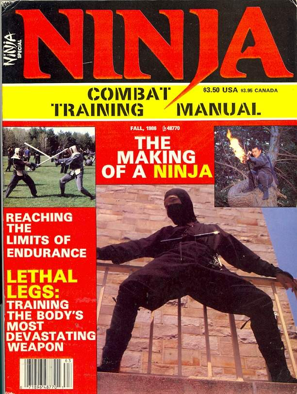 Fall 1986 Ninja Combat Training Manual