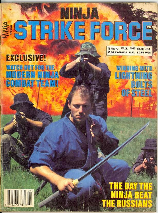 Fall 1987 Ninja Strike Force