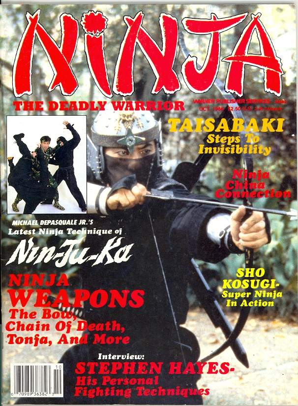 10/86 Ninja The Deadly Warrior