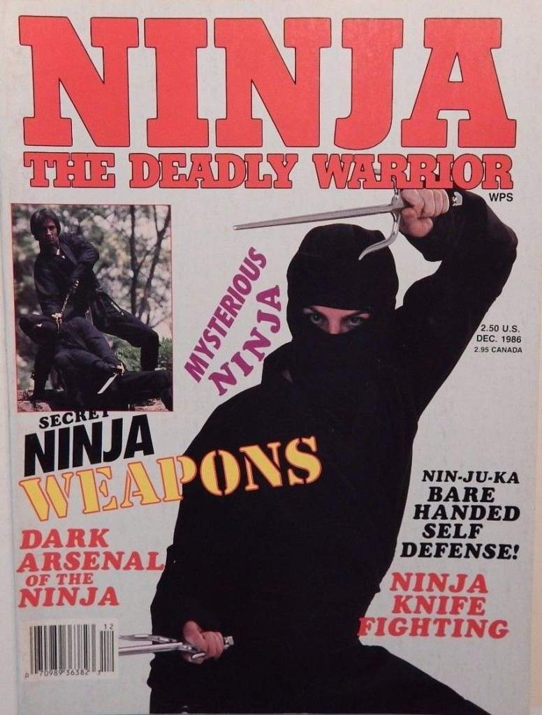 12/86 Ninja The Deadly Warrior
