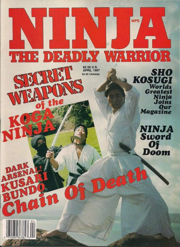 04/87 Ninja The Deadly Warrior