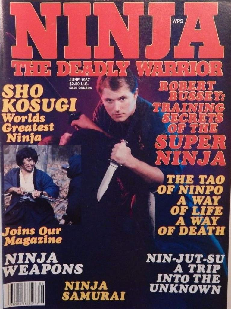06/87 Ninja The Deadly Warrior