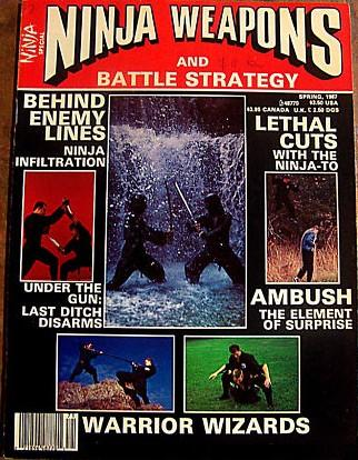 Spring 1987 Ninja Weapons and Battle Strategy
