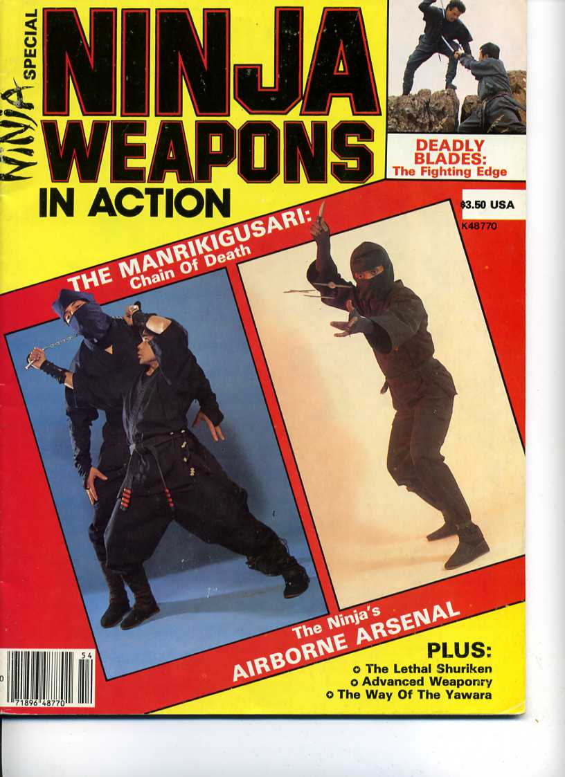Winter 1985 Ninja Weapons in Action