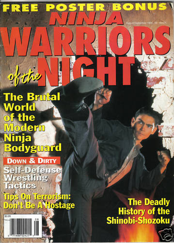 08/94 Ninja Warriors of the Night