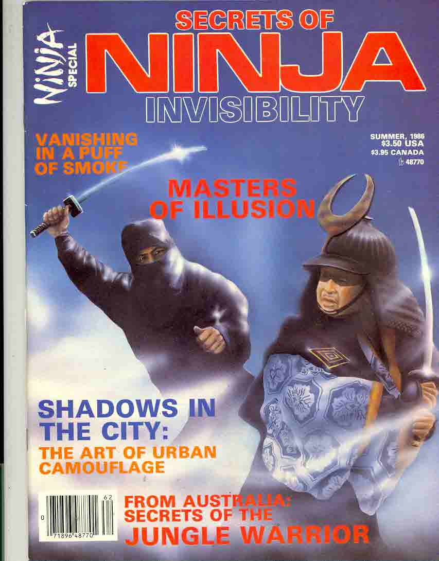 Summer 1986 Secrets of Ninja Invisibility