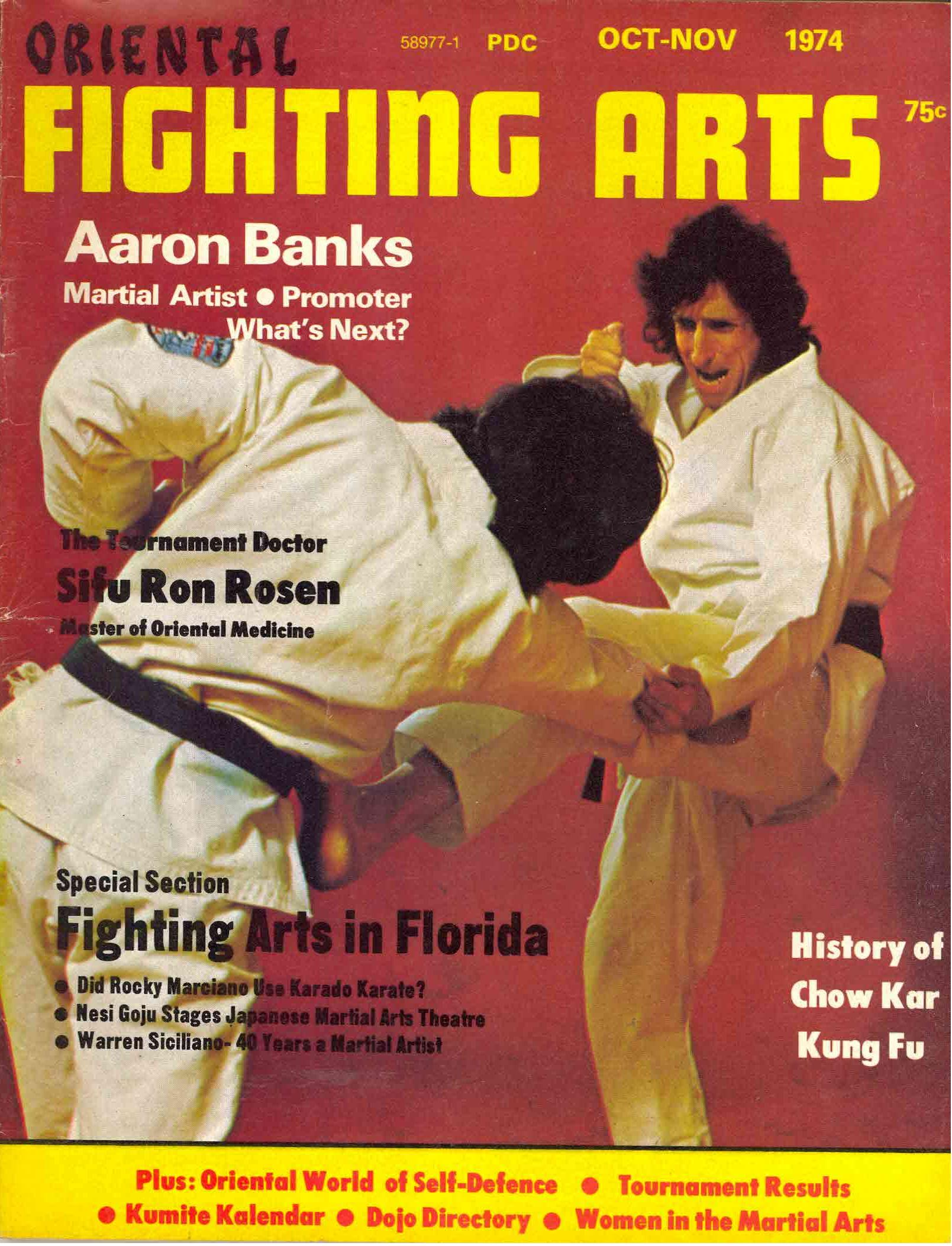 10/74 Oriental Fighting Arts