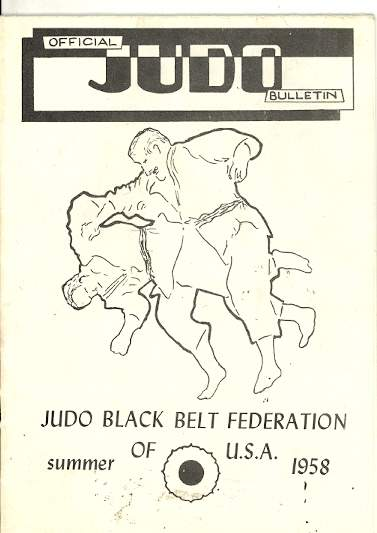 Summer 1958 Official Judo Bulletin
