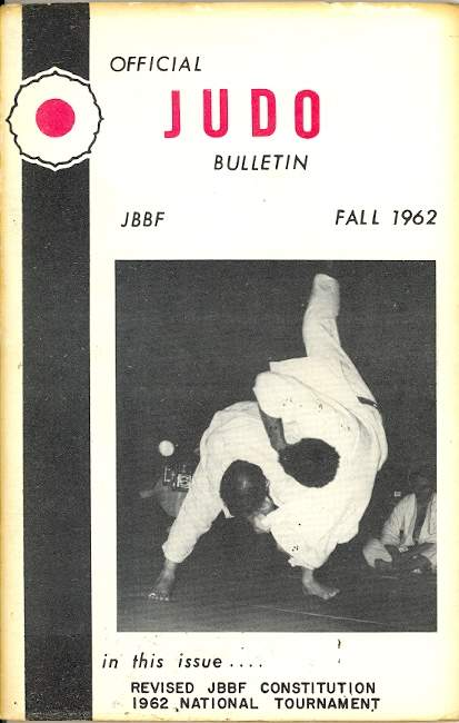Fall 1962 Official Judo Bulletin