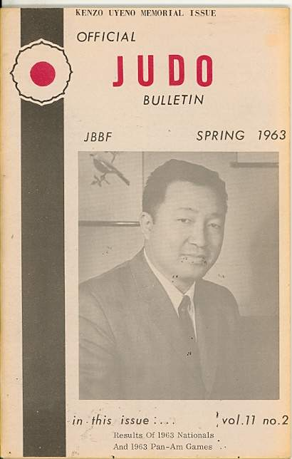 Spring 1963 Official Judo Bulletin