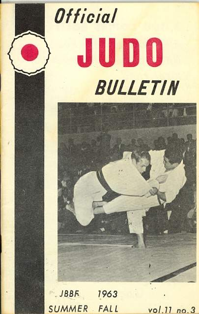 Summer 1963 Official Judo Bulletin