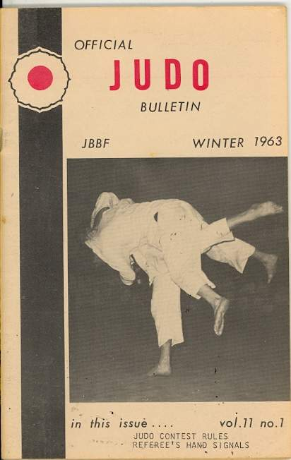Winter 1963 Official Judo Bulletin